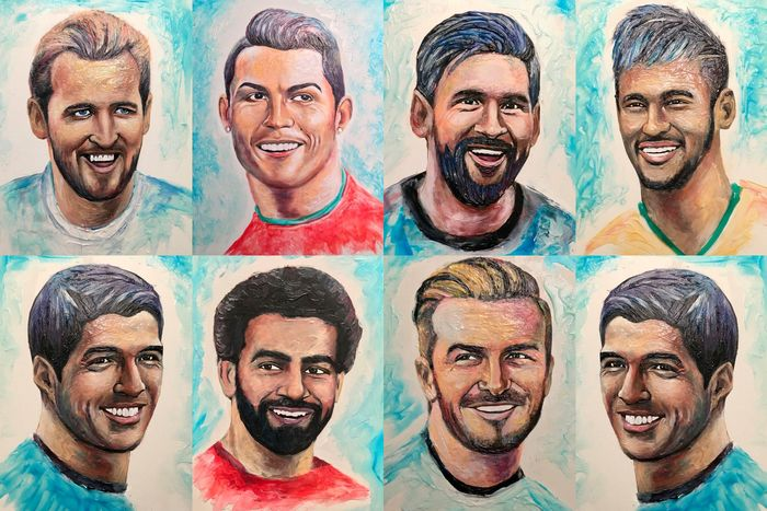 Seorang seniman bernama Christiam Ramos menciptakan sebuah karya unik dari pasta gigi. memanfaatkan momen Piala Dunia 2018, ia ingin buktikan menciptakan karya seni bisa berasal dari media apa saja. Istimewa/Boredpanda.