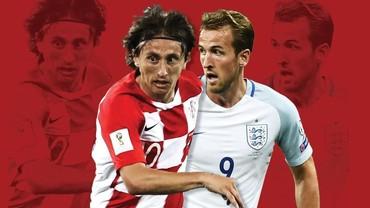 Kroasia vs Inggris: Sarat Gengsi!