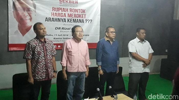 Rizal Ramli: Ekonomi RI Sudah Lampu Setengah Merah