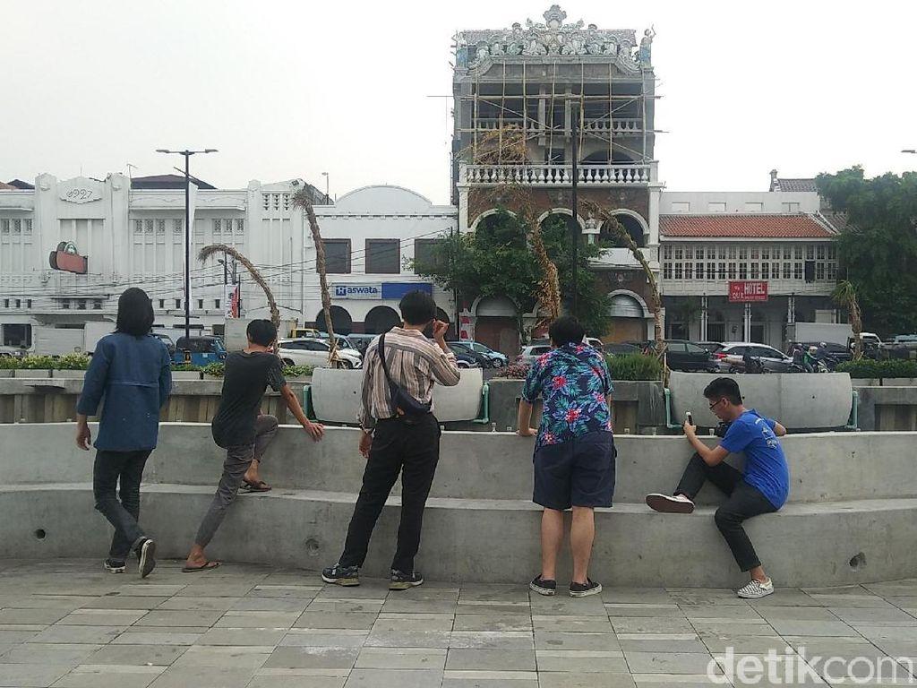 Ini Kata Traveler Tentang Kali Besar di Kota Tua Jakarta