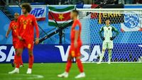 Sekalinya Kalah, Belgia Harus Kubur Mimpi Juara Piala Dunia 2018