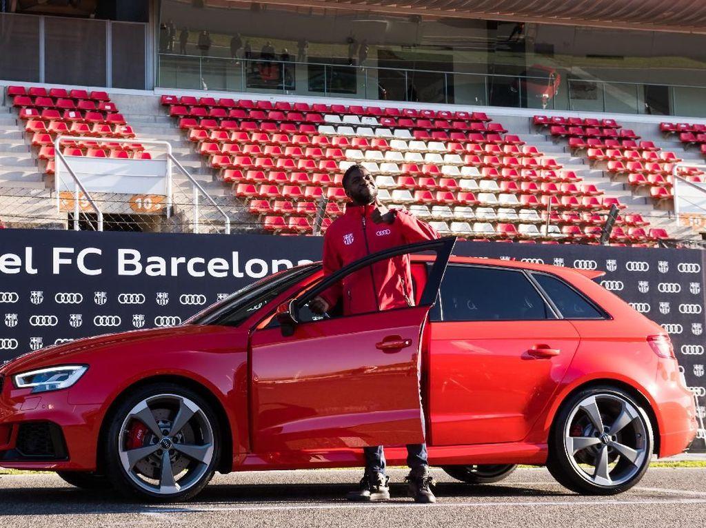 Bonus Mobil Audi RS3 Sportback untuk Samuel Umtiti