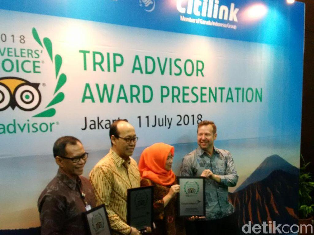 Garuda Indonesia dan Citilink Jadi Maskapai Pilihan Versi TripAdvisor 2018