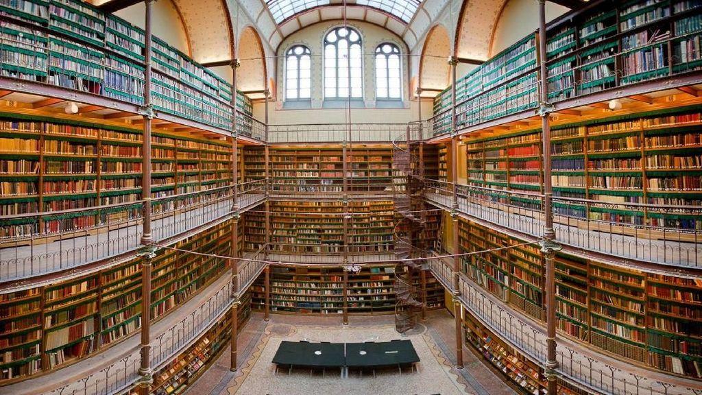 Foto: Perpus Seni Terbesar dan Tertua di Belanda