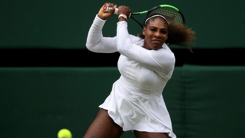 Serena Williams ke Semifinal Wimbledon Usai Main Tiga Set