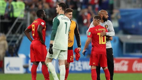 Hazard dan Courtois Kritik Pedas Prancis
