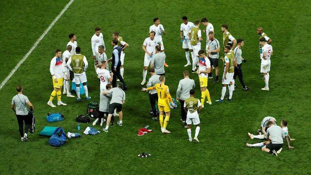 Timnas Inggris gagal menjaga keunggulan yang sempat mereka ciptakan di awal laga.