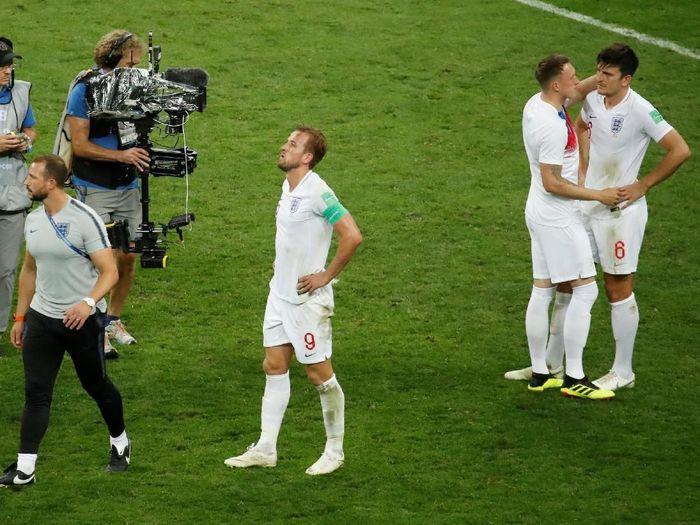 Kapten timnas Inggris, Harry Kane. (Foto: Christian Hartmann/Reuters)