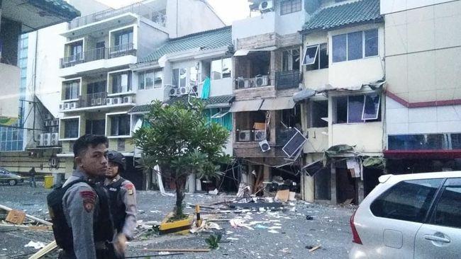 Bukan Bom, Ledakan di Ruko Grand Wijaya dari Tabung Gas