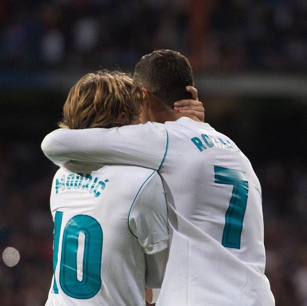 Salam Perpisahan Modric untuk Ronaldo
