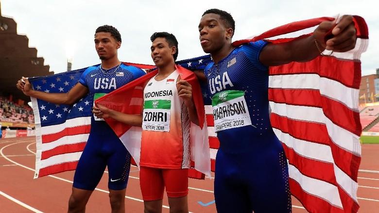 [ADEM-News] Sprinter Indonesia Raih Emas di Kejuaraan Dunia Atletik U-20