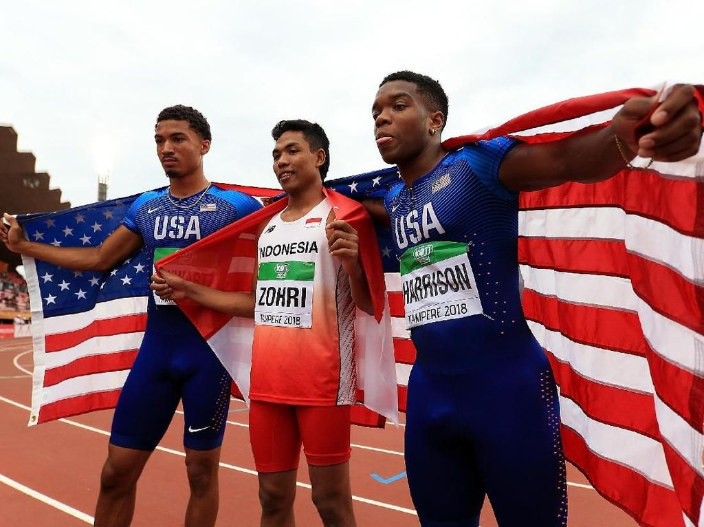 Menlu ke Zohri Si Juara Dunia Atletik U-20: Proud of You!
