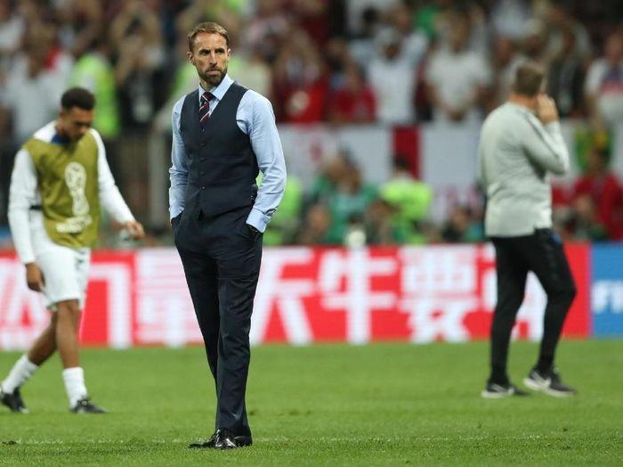Manajer timnas Inggris, Gareth Southgate. (Foto: Carl Recine/Reuters)