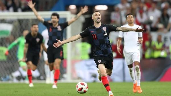Video: Kalahkan Inggris, Kroasia ke Final Piala Dunia 2018