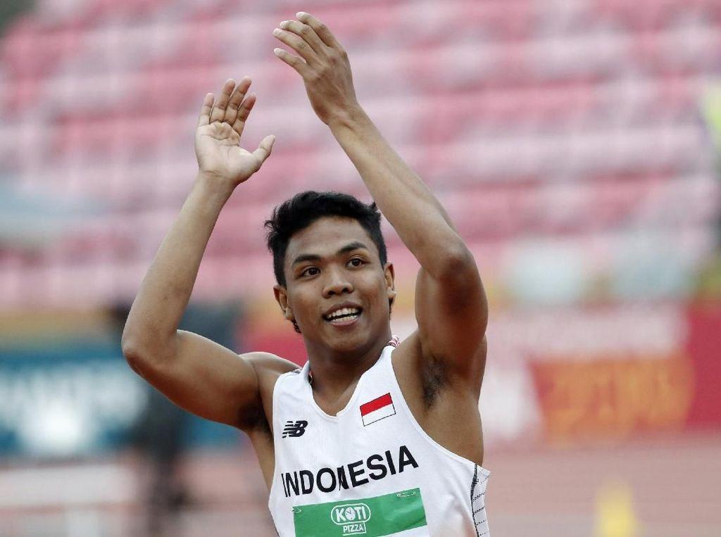 DPR Puji Zohri Bocah Ajaib Juara Dunia Lari