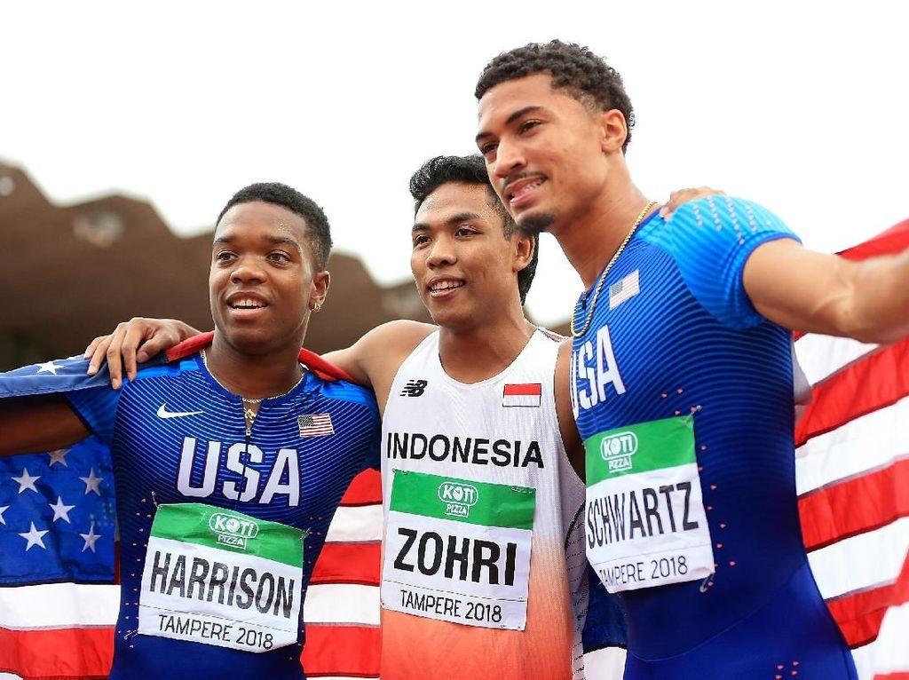 Lalu Sprinter Juara Dunia U-20 Itu Didikan PPLP NTB Kemudian ke Pelatnas