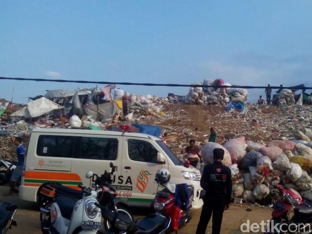 Pencarian Pemulung Tertimbun Sampah di Malang Terkendala Tanah Labil