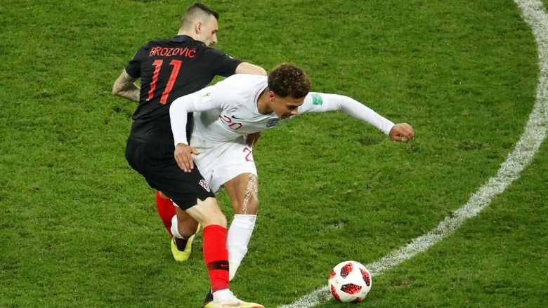 Kroasia vs Inggris Masih Imbang di Jeda Babak Tambahan