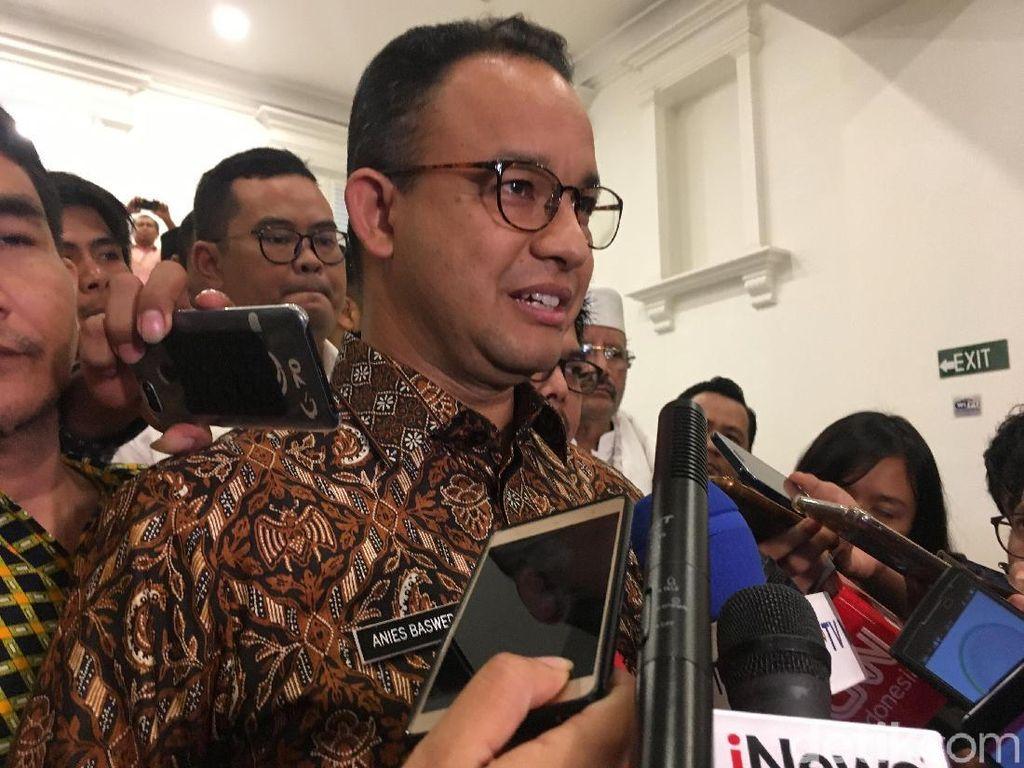 Anies Ingin Publik Tahu Pembangunan di DKI dari APBD Bukan KLB