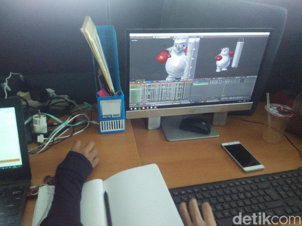 Beberapa Alasan Animator Lokal Belum Bersaing di Kancah Global