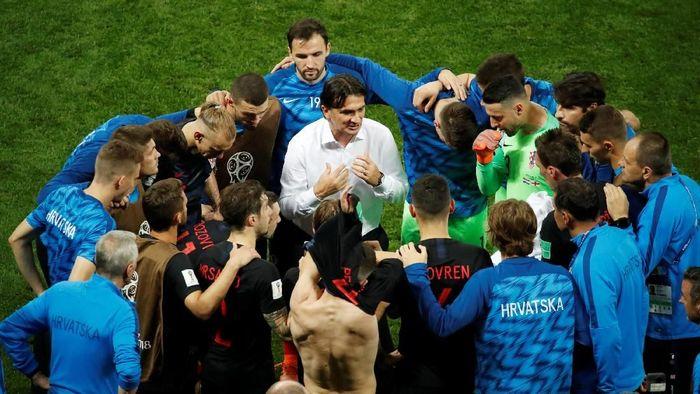 Kroasia menang 2-1 atas Inggris lewat babak perpanjangan waktu untuk lolos ke final Piala Dunia 2018 (Foto: Christian Hartmann/Reuters)