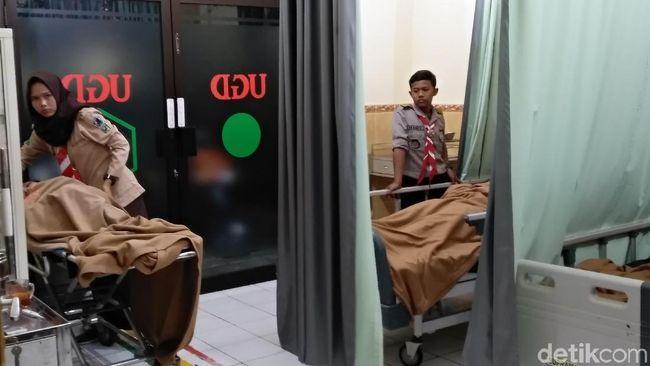 Belasan Peserta Festival Wirakarya 2018 di Malang Kesurupan