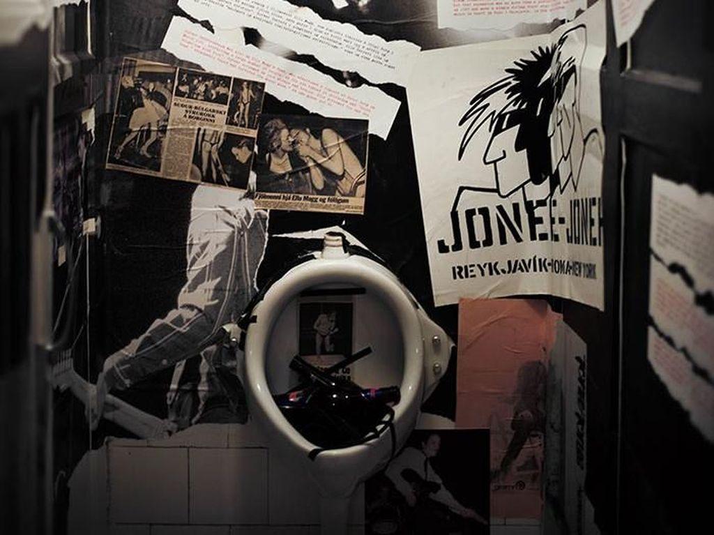 Foto: Museum Punk yang Dulunya Toilet Umum