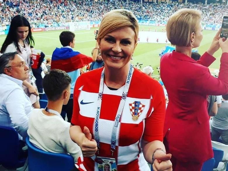 Presiden Kroasia Jadi Sensasi Piala Dunia, Salah Dikira Model dan Bintang Porno