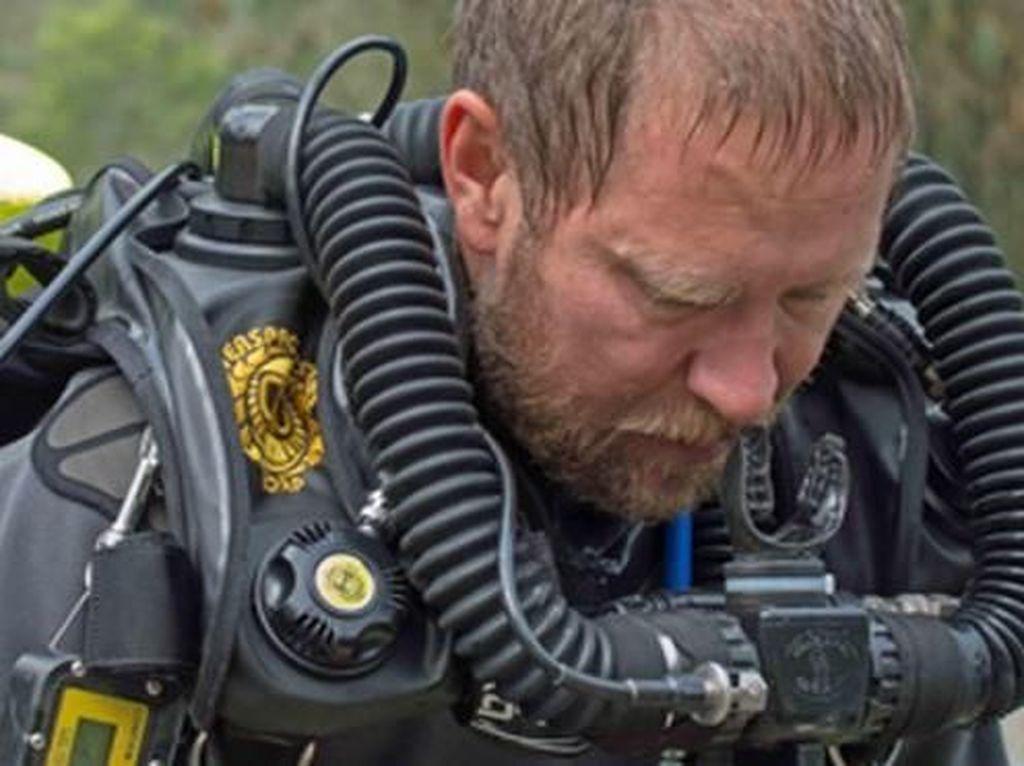 Richard Harris, Dokter Penyelam yang Terakhir Keluar dari Gua Thailand