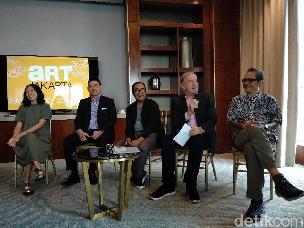 Art Jakarta 2018 Kini Berbayar dengan Harga Tiket Rp 50 Ribu