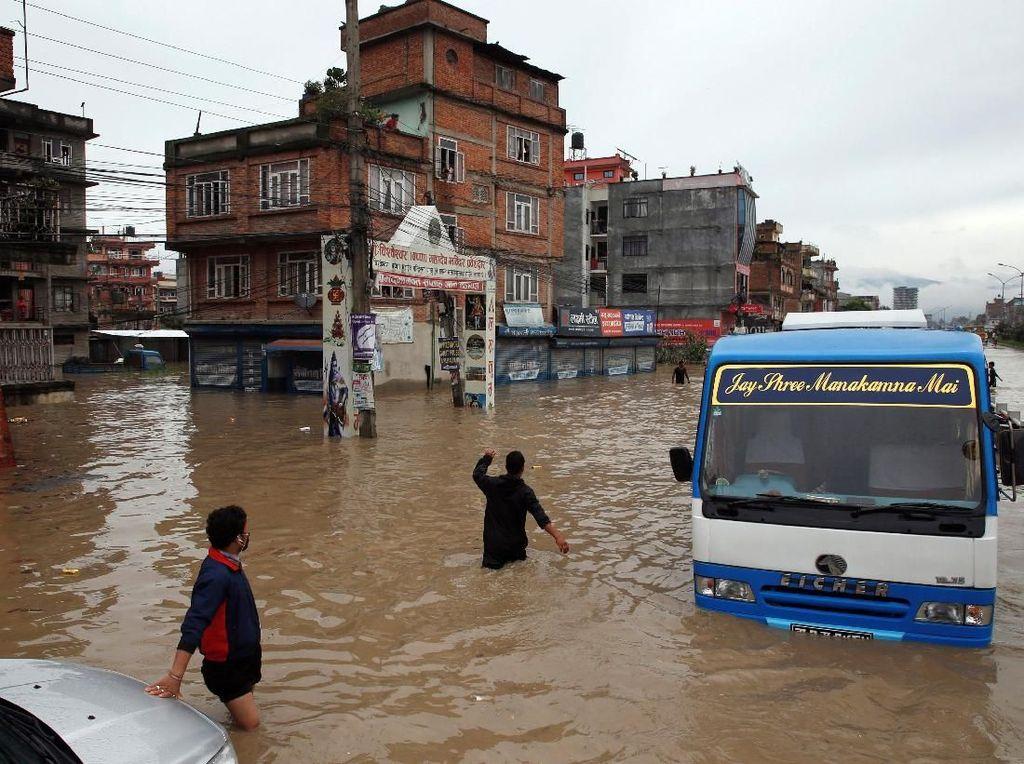 Hujan Deras Berujung Banjir di Nepal: 1 Orang Tewas, 7 Hilang