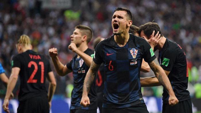 Dejan Lovren menjadi andalan di lini belakang Kroasia (Foto: Dan Mullan/Getty Images)