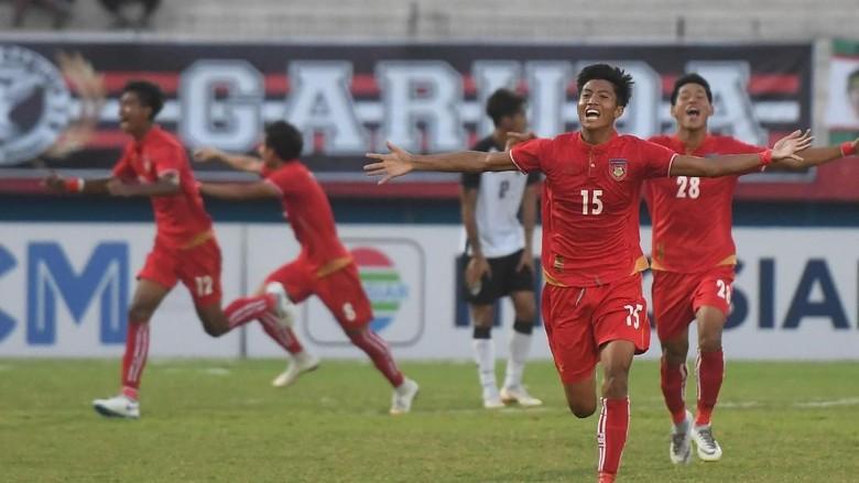 Kalahkan Thailand, Myanmar ke Final Piala AFF U-19
