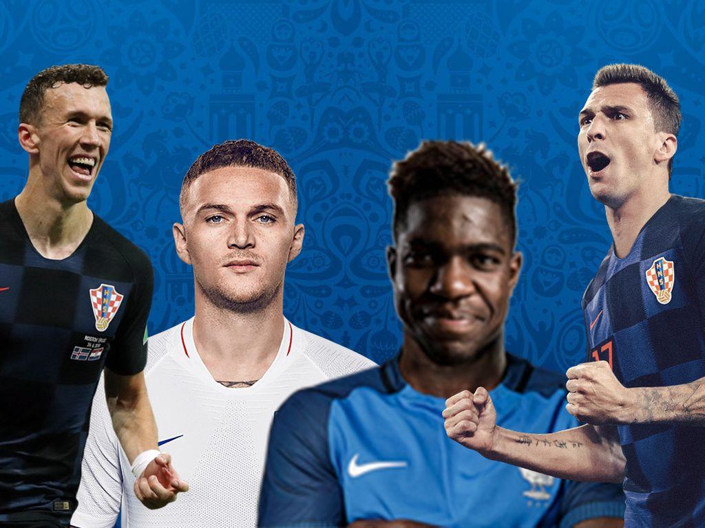Video: Gol-gol Keren di Semifinal Piala Dunia 2018