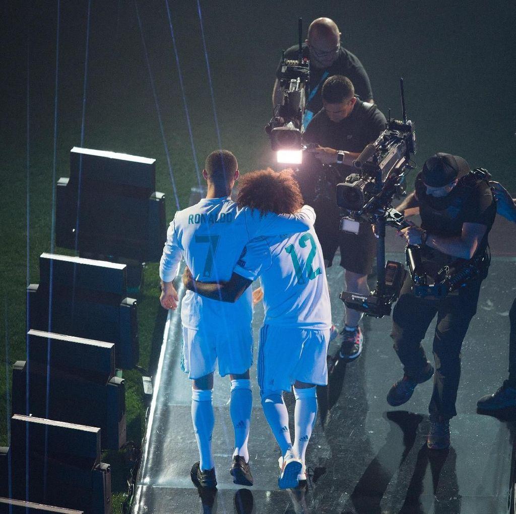 Marcelo: Aku Akan Merindukanmu, Ronaldo