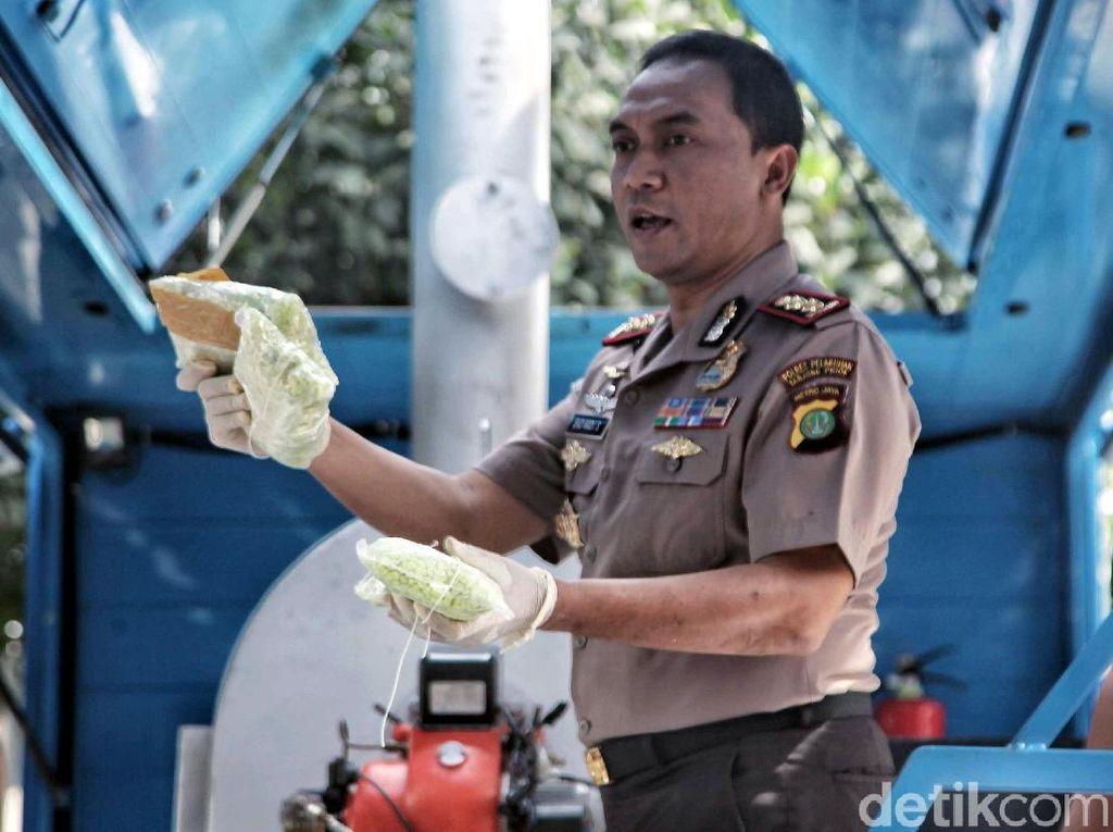 Polres Pelabuhan Tanjung Priok Musnahkan Narkoba Rp 11 Miliar