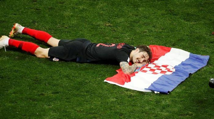 Kroasia melangkah ke final Piala Dunia untuk pertama kalinya. (Foto: Christian Hartmann/REUTERS)
