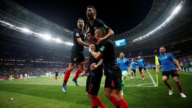 Timnas Kroasia tampil di final untuk kali pertama.