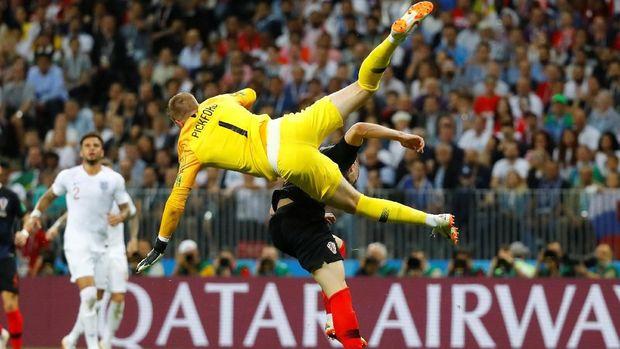 Inggris berhasil mempertahankan keunggulan 1-0 di babak pertama.