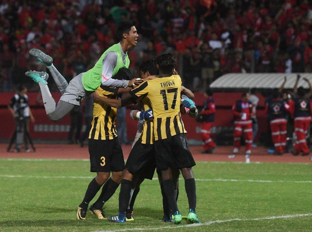 Malaysia Sempat Grogi Saat Hadapi Indonesia