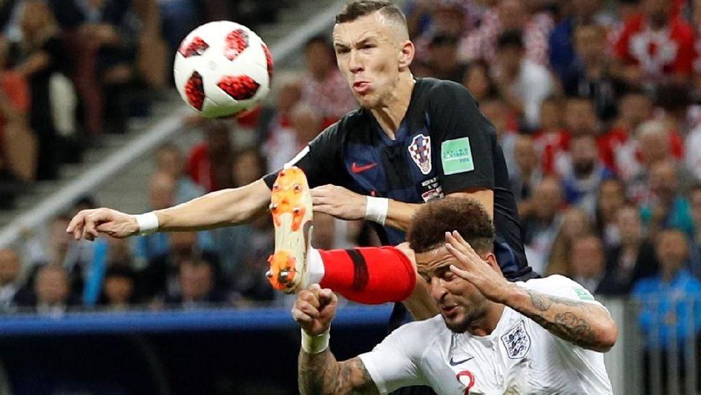 Gol Perisic! Kroasia 1-1 Inggris