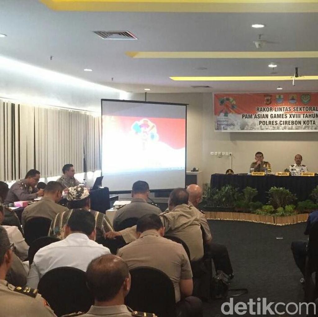 Densus 88 Pantau Keamanan Atlet Asian Games di Cirebon