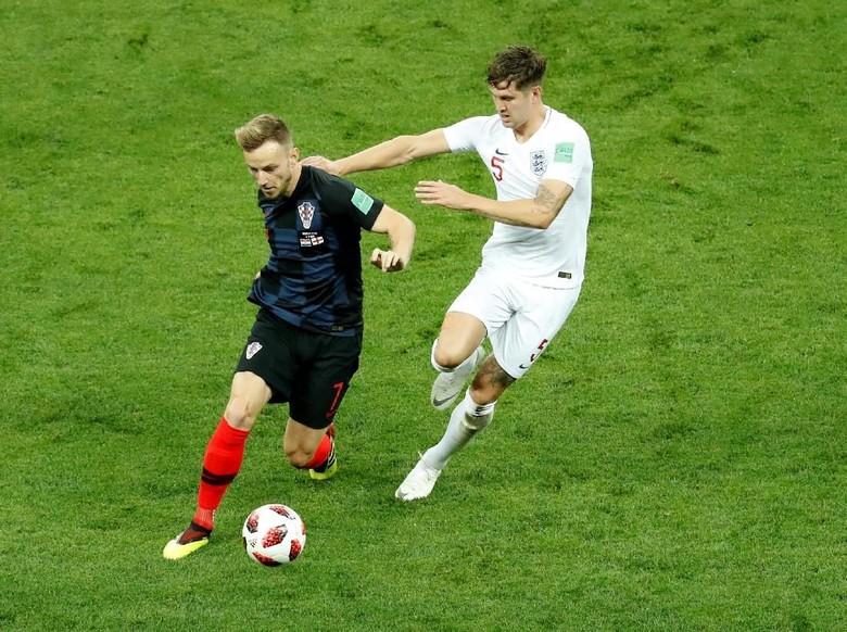 Rakitic Terserang Demam, Main, Lalu Bantu Kroasia ke Final