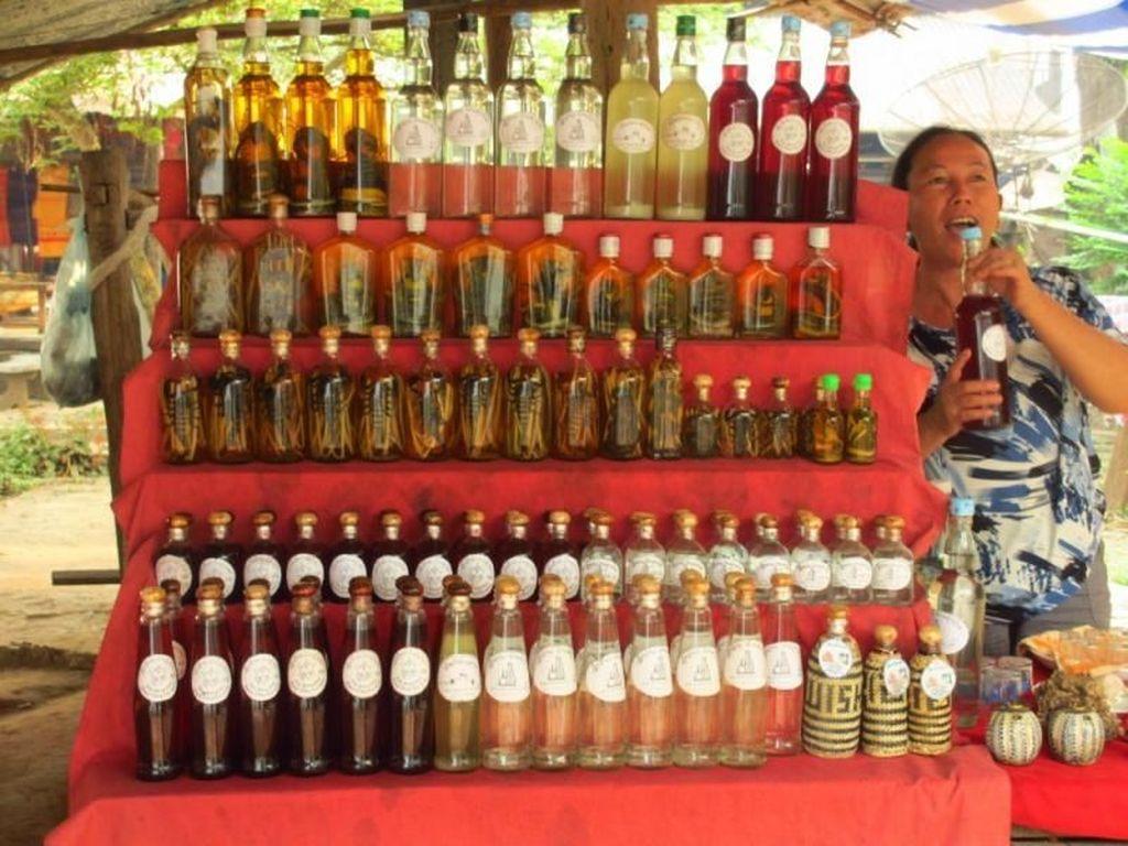 Laos, Whisky Ular dan Alam yang Indah