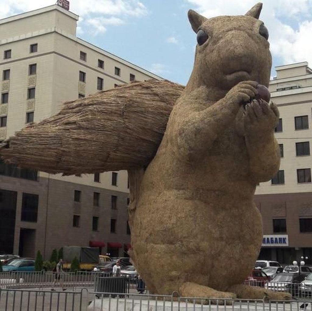 Viral Tupai Raksasa Rp 963 Juta di Kazakhstan Tuai Kontroversi
