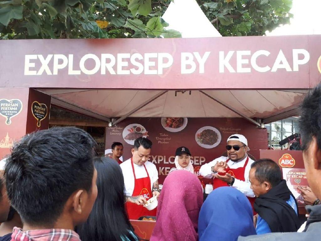 Pengunjung Eksploresep by Kecap ABC Jatuh Cinta pada Ayam Taliwang Pedas Manis