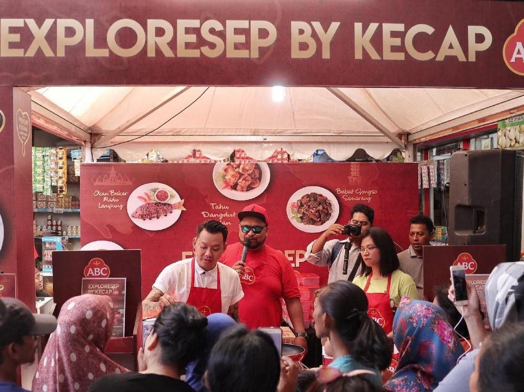 Jelajahi 6 Kota, Ini Keseruan Eksploresep by Kecap ABC di Lampung hingga Lombok