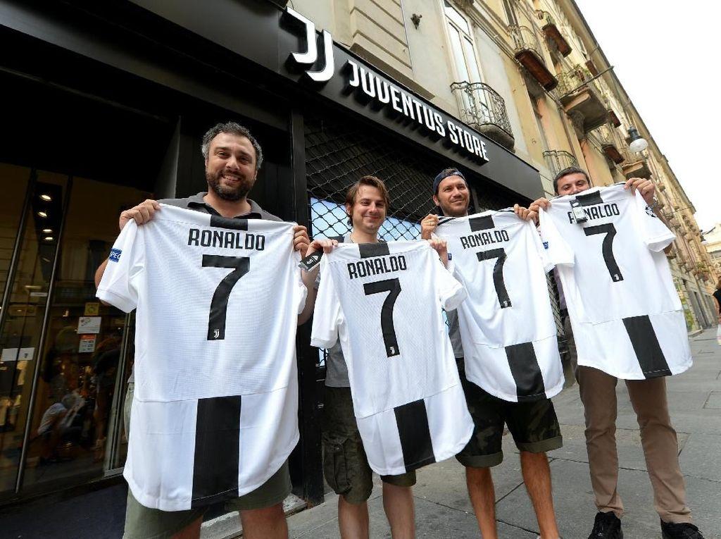 Cristiano Ronaldo dan Sosok Lain yang Pernah Pakai Nomor 7 Juventus