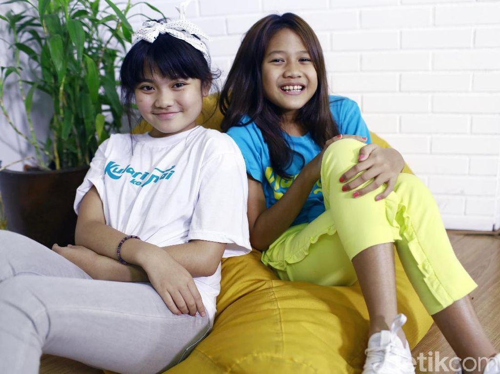 Maisha Kanna dan Lilli Latisha Mau Terus Bernyanyi
