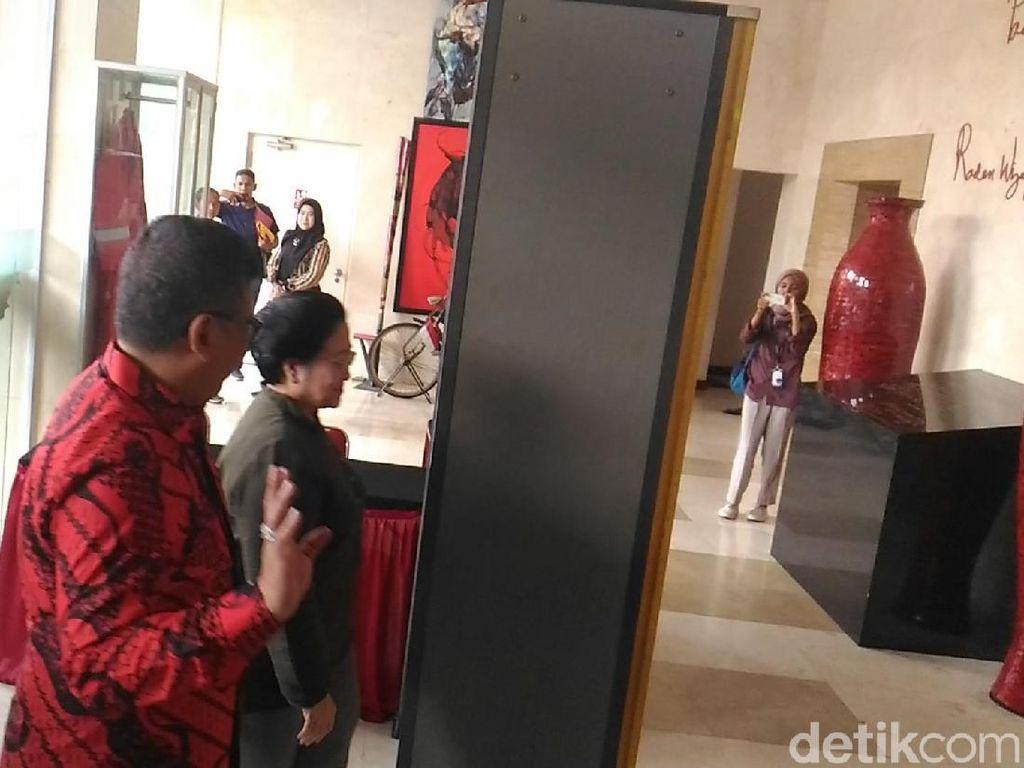 Megawati Tiba di DPP PDIP Setelah Elite PD Pulang